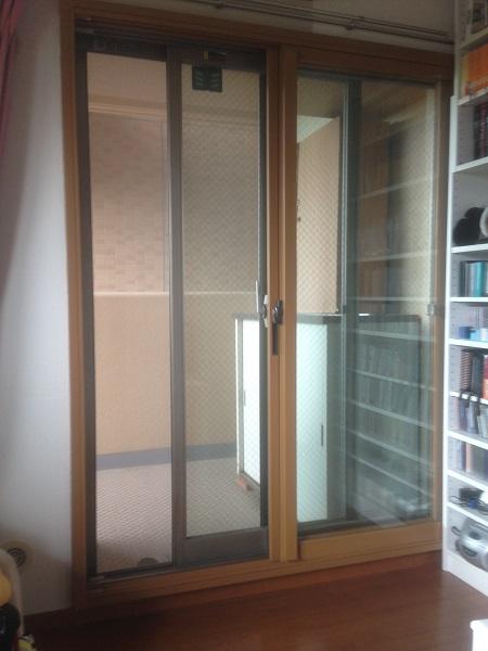 掃き出し窓用の内窓