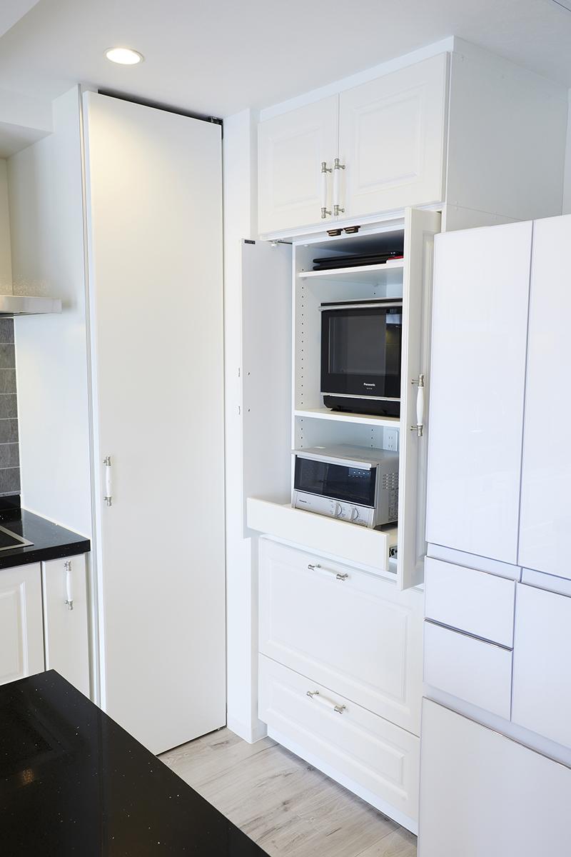 キッチンパントリー収納