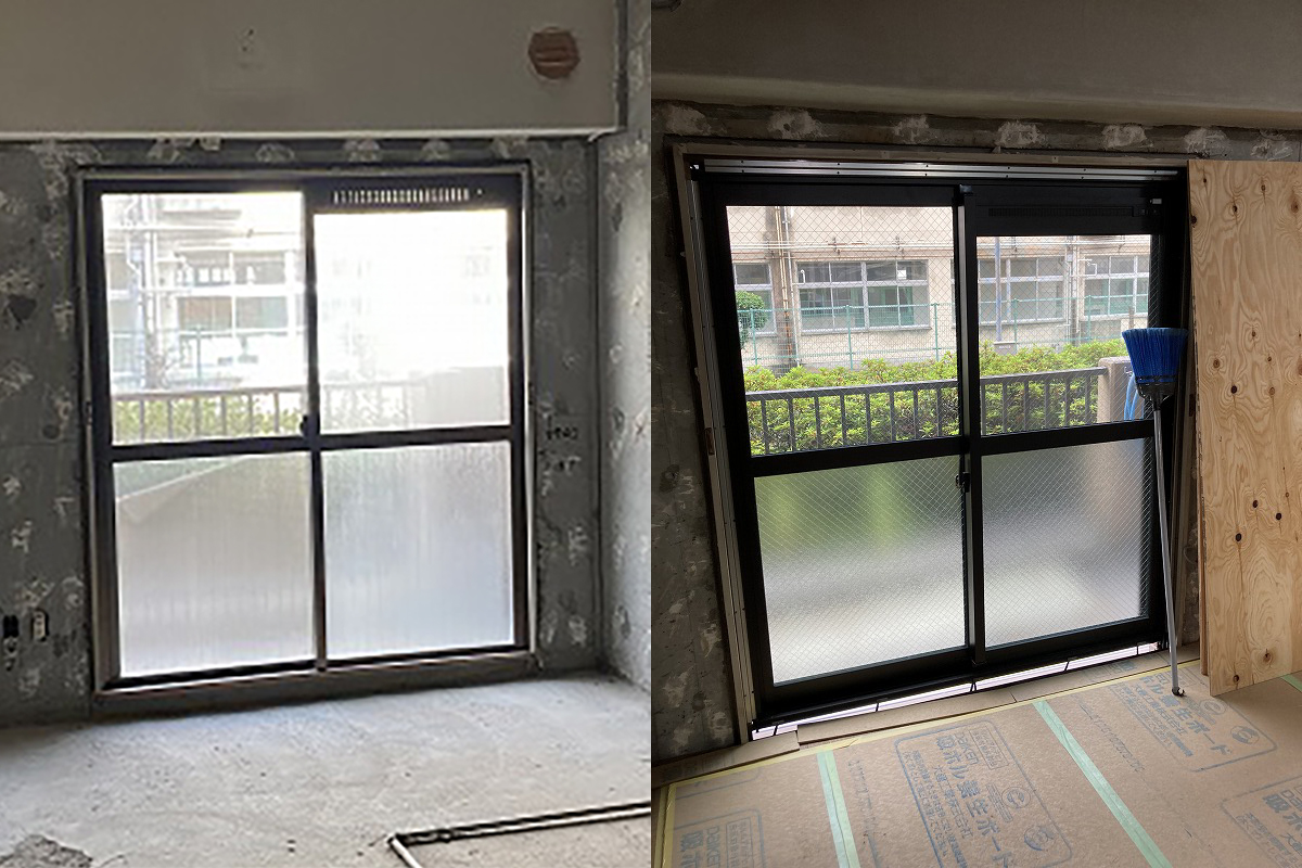 窓の入れ替えリフォーム